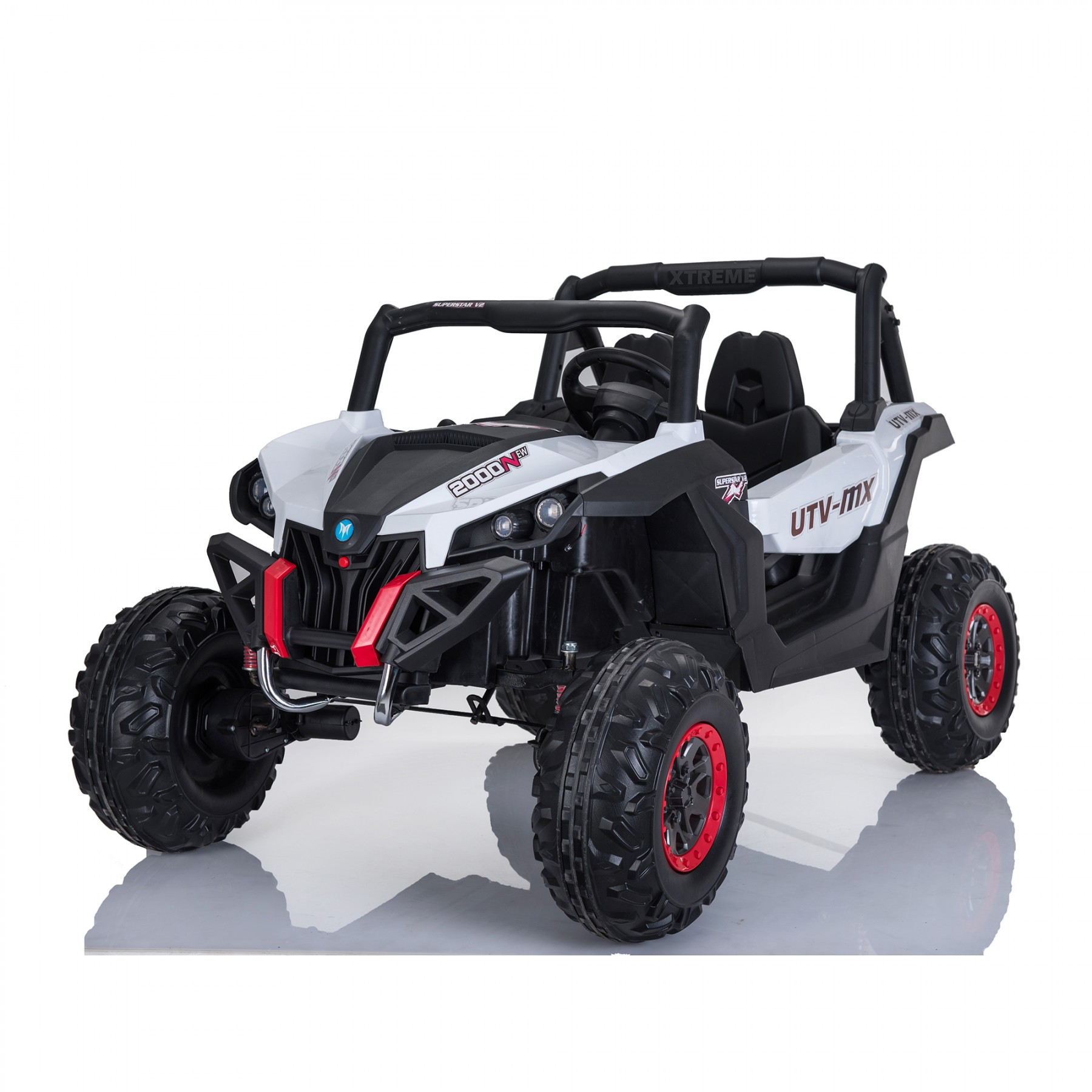 Xtreme 2018 BIG 24v Ride on 4x4 Jeep White