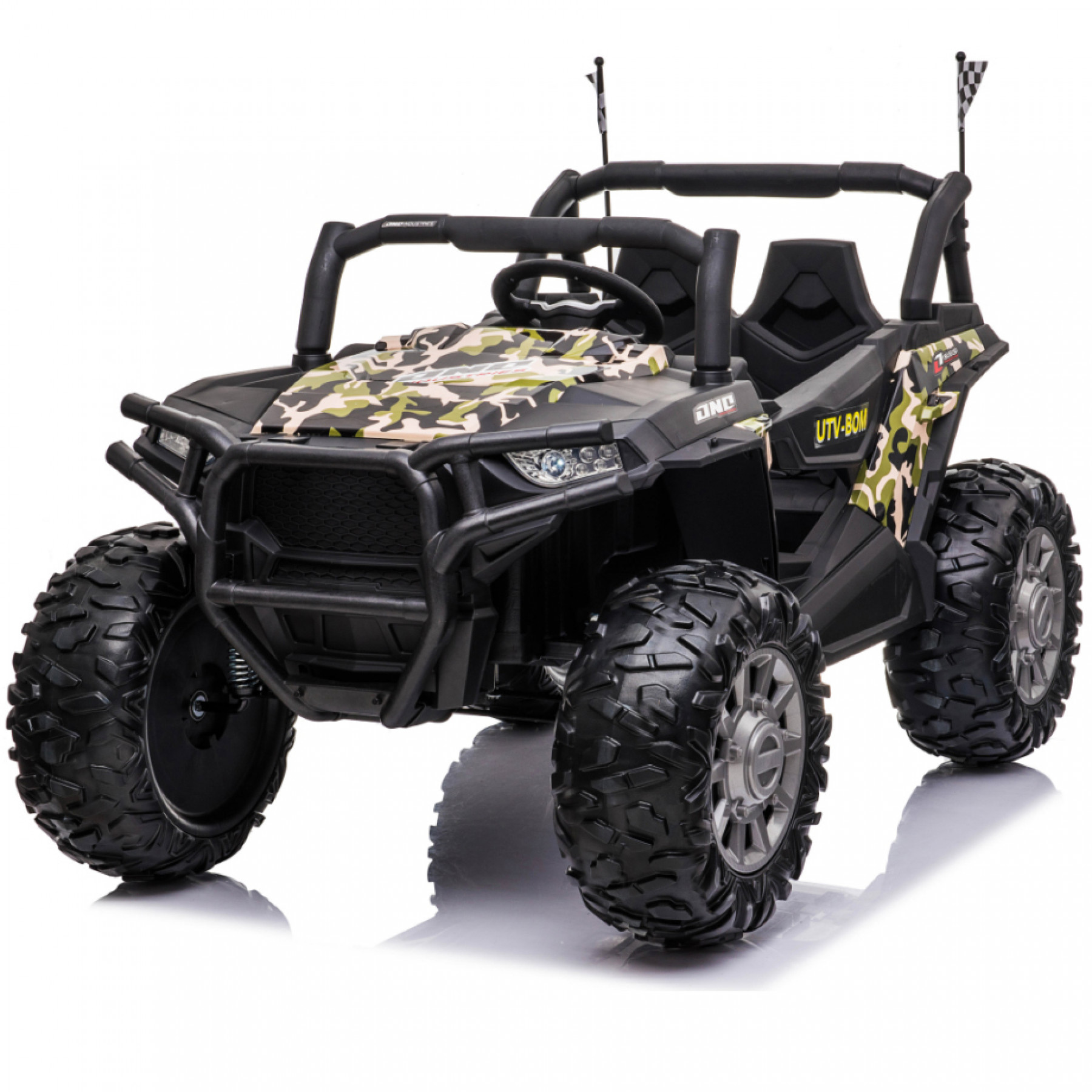 Xtreme BIG 24v Ride on Buggy Off Road UTV Jeep Painted Camouflage Green