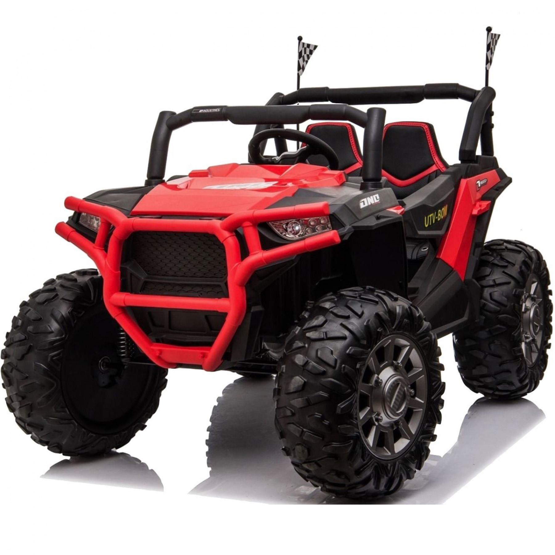 Xtreme BIG 24v Ride on Buggy Off Road UTV Jeep Red