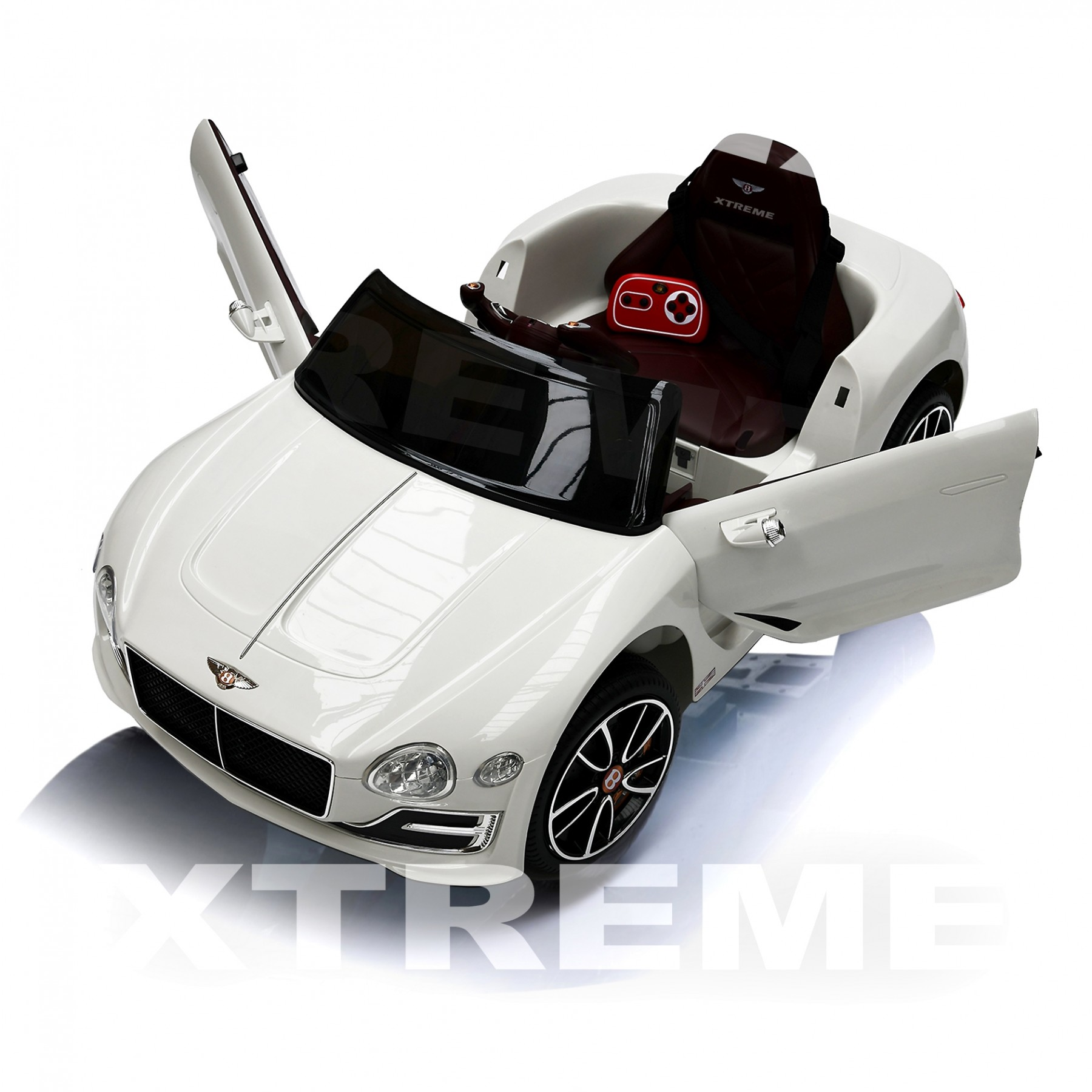 Xtreme 12v Official Licensed Luxury Bentley EXP12 Ride on Car White