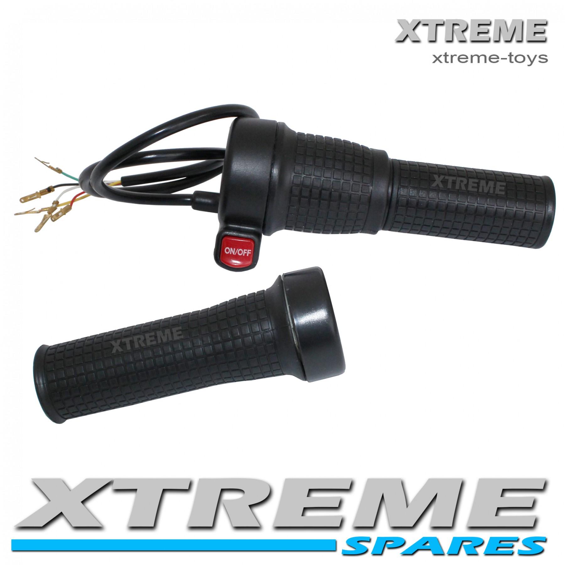 ELECTRIC MINI XTM DIRT BIKE COMPLETE TWIST THROTTLE AND GRIP SET