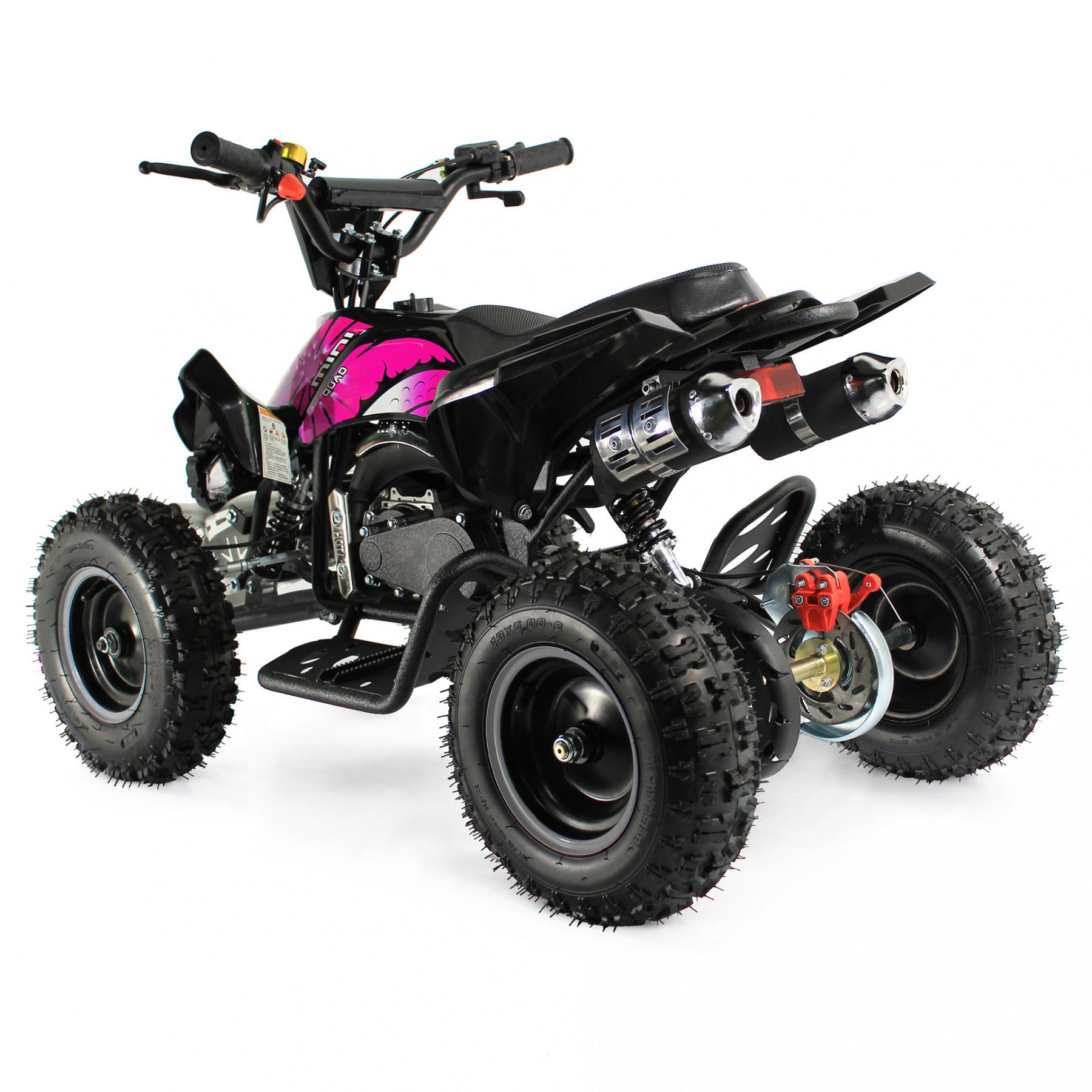 XTM MONSTER 50cc QUAD BIKE BLACK PINK
