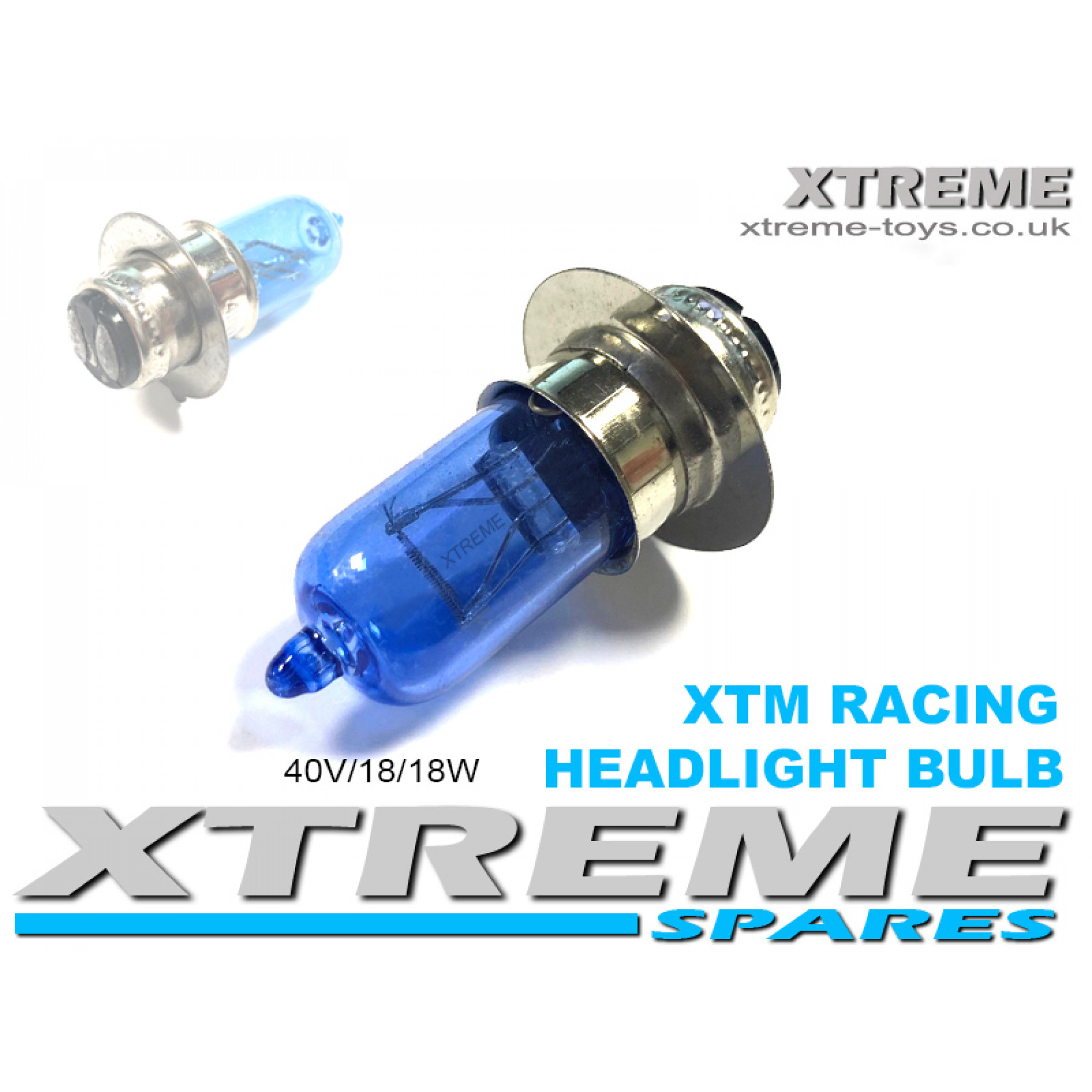XTM RACING QUAD COMPLETE HEADLIGHT BULB