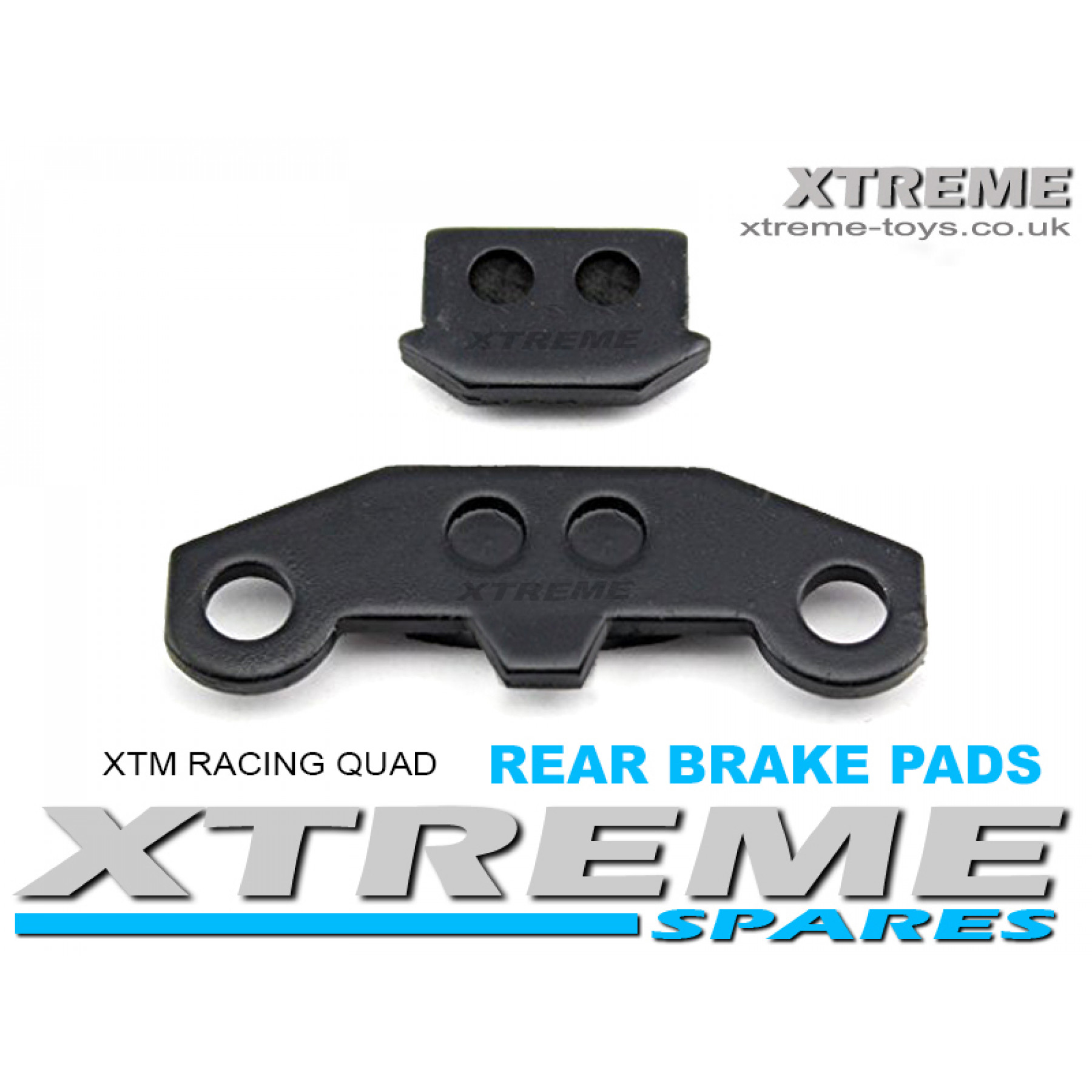 XTM RACING QUAD COMPLETE REAR BRAKE PADS