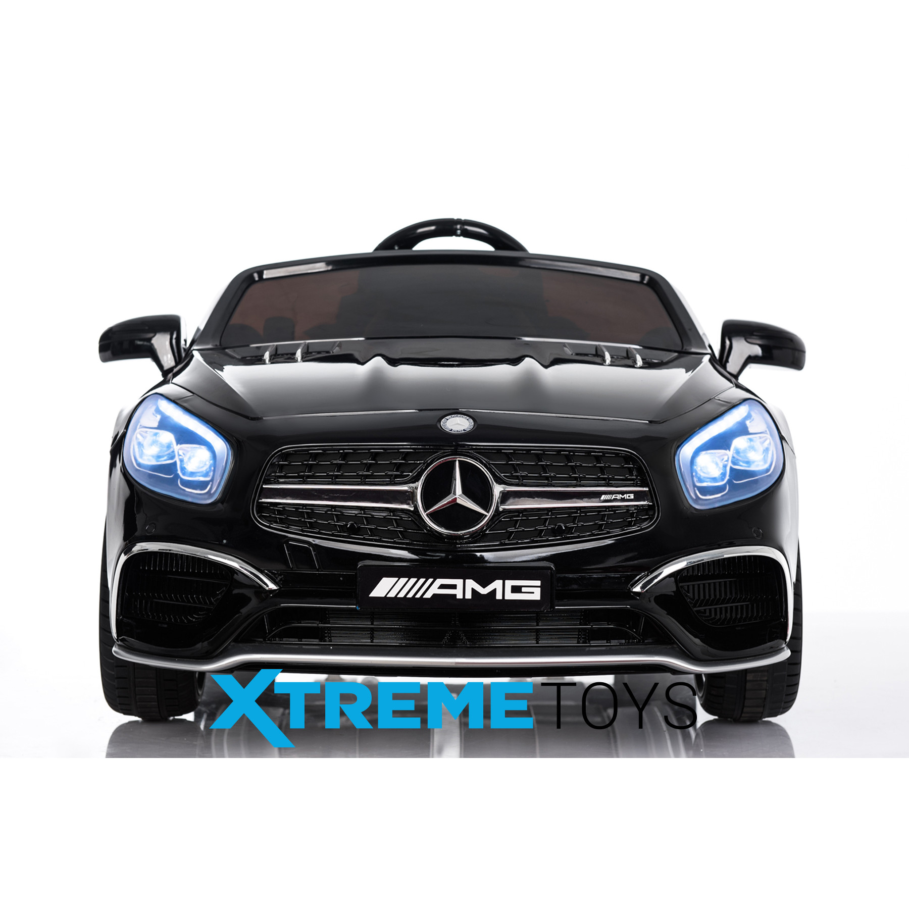 Xtreme 12v Licensed Mercedes-Benz SL65 AMG Coupe Ride on Car in Black