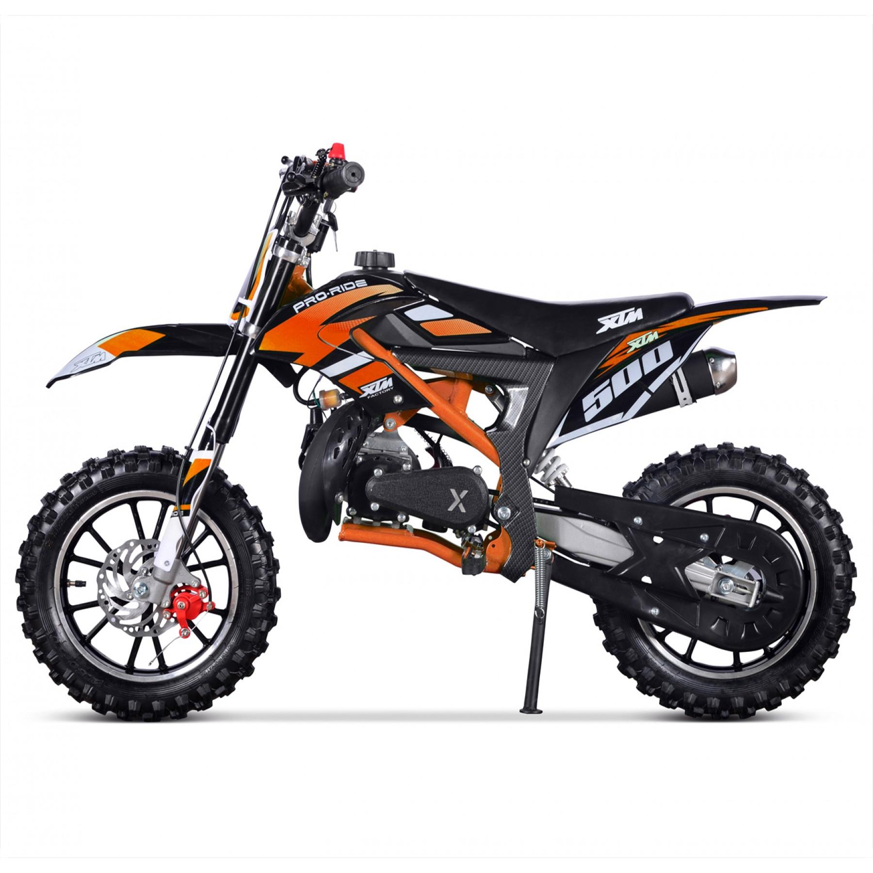 XTM PRO-RIDER 50cc DIRT BIKE BLACK ORANGE
