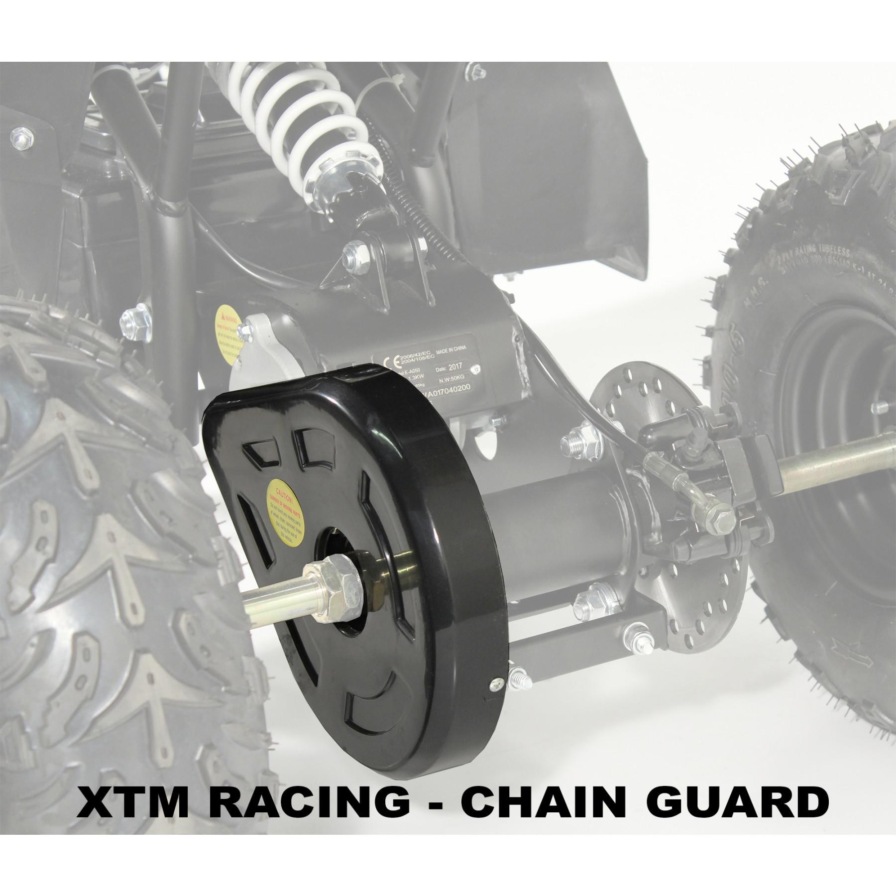 XTM RACING QUAD COMPLETE CHAIN GUARD