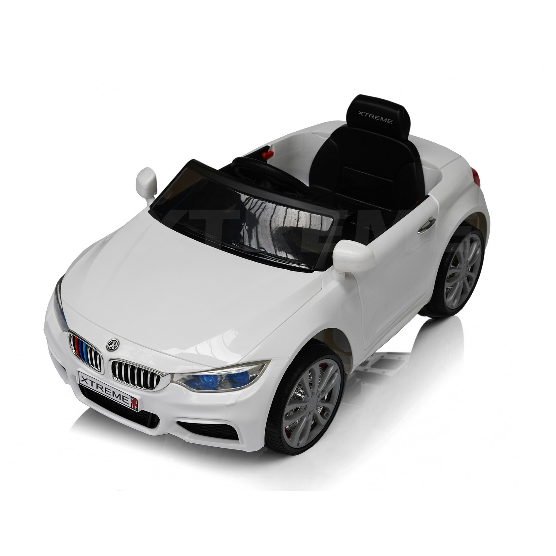 Xtreme 12v BMW 4 Series M4 Style Ride on Car in White