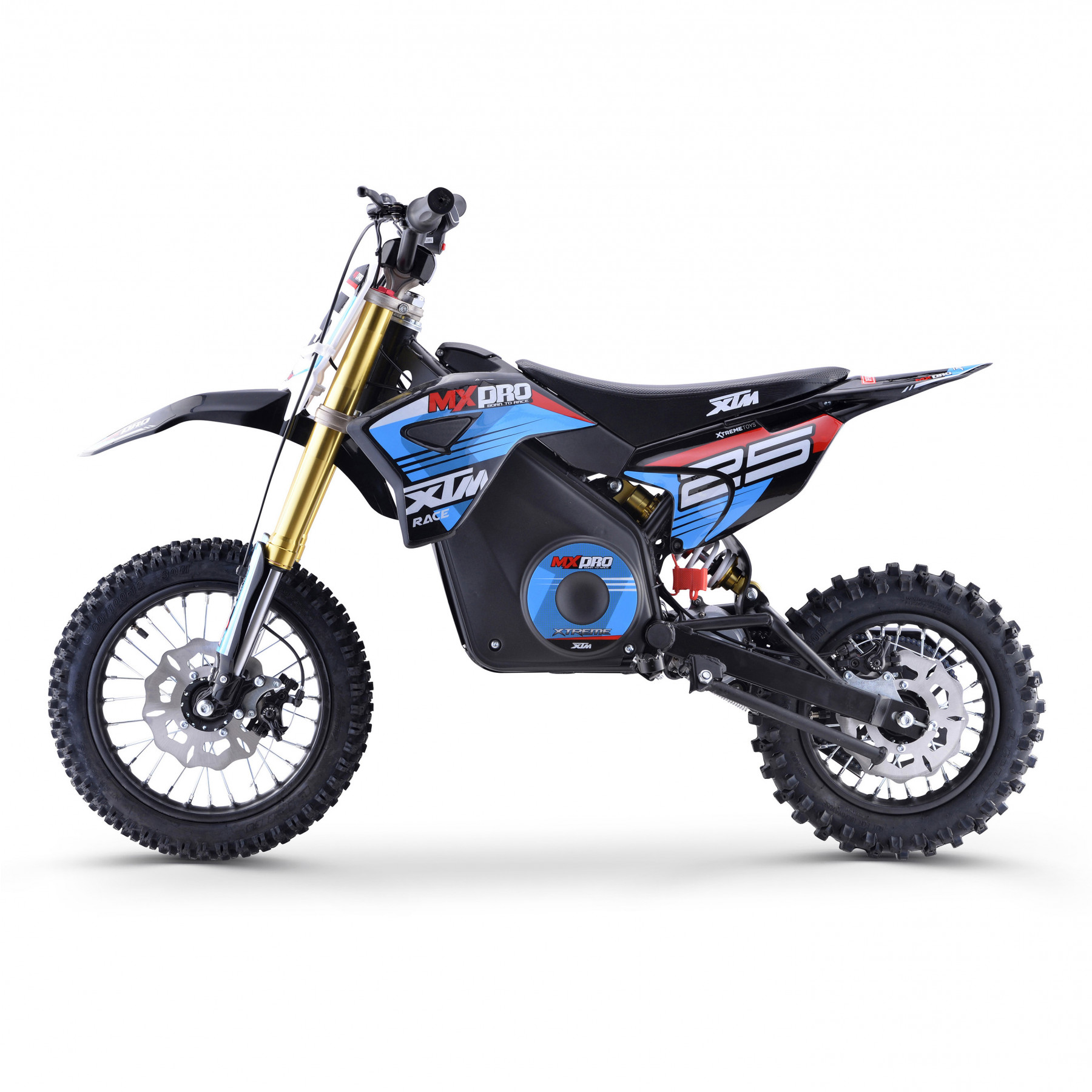 XTM MX-PRO 48V 1300W LITHIUM DIRT BIKE BLUE