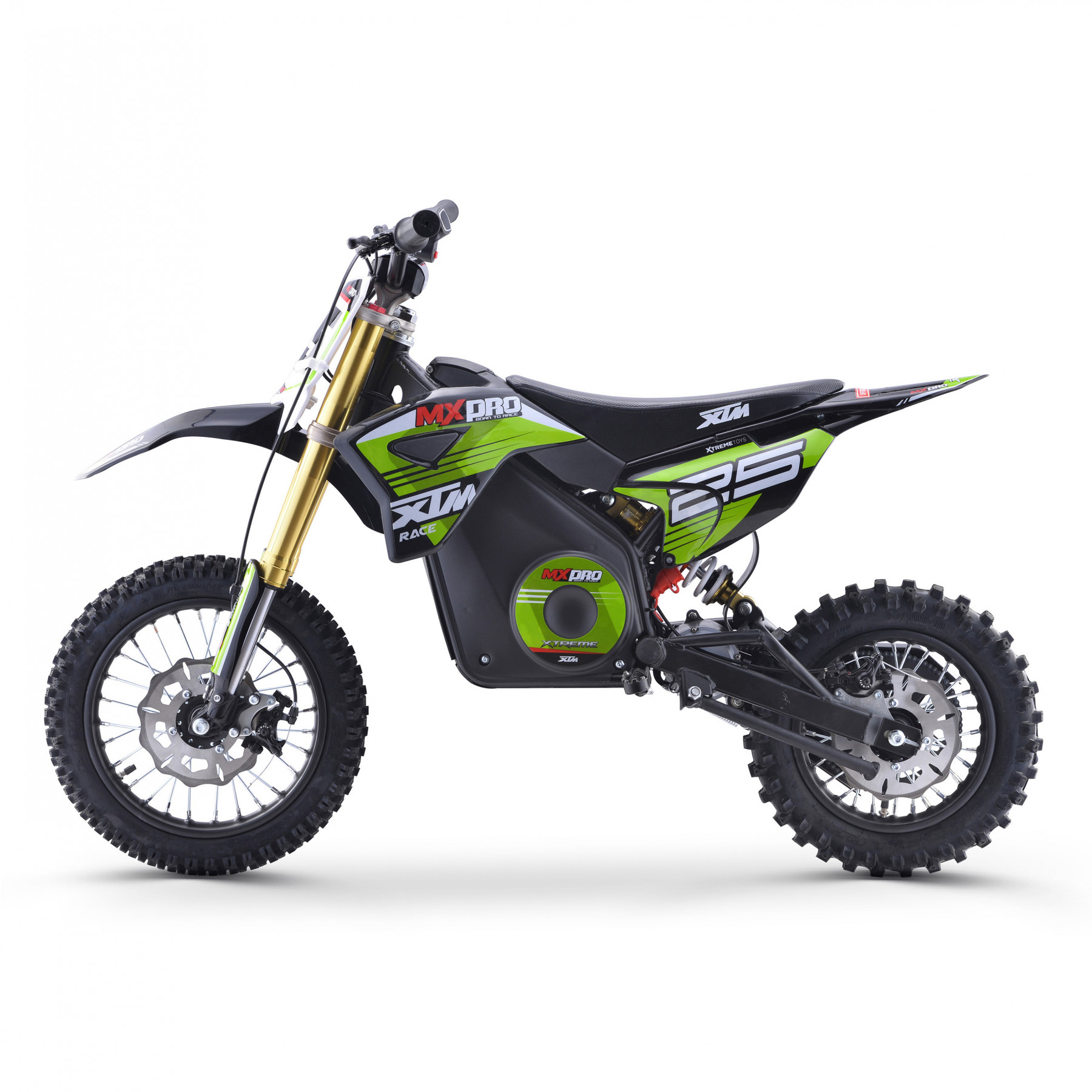 XTM MX-PRO 36V 1000W DIRT BIKE GREEN