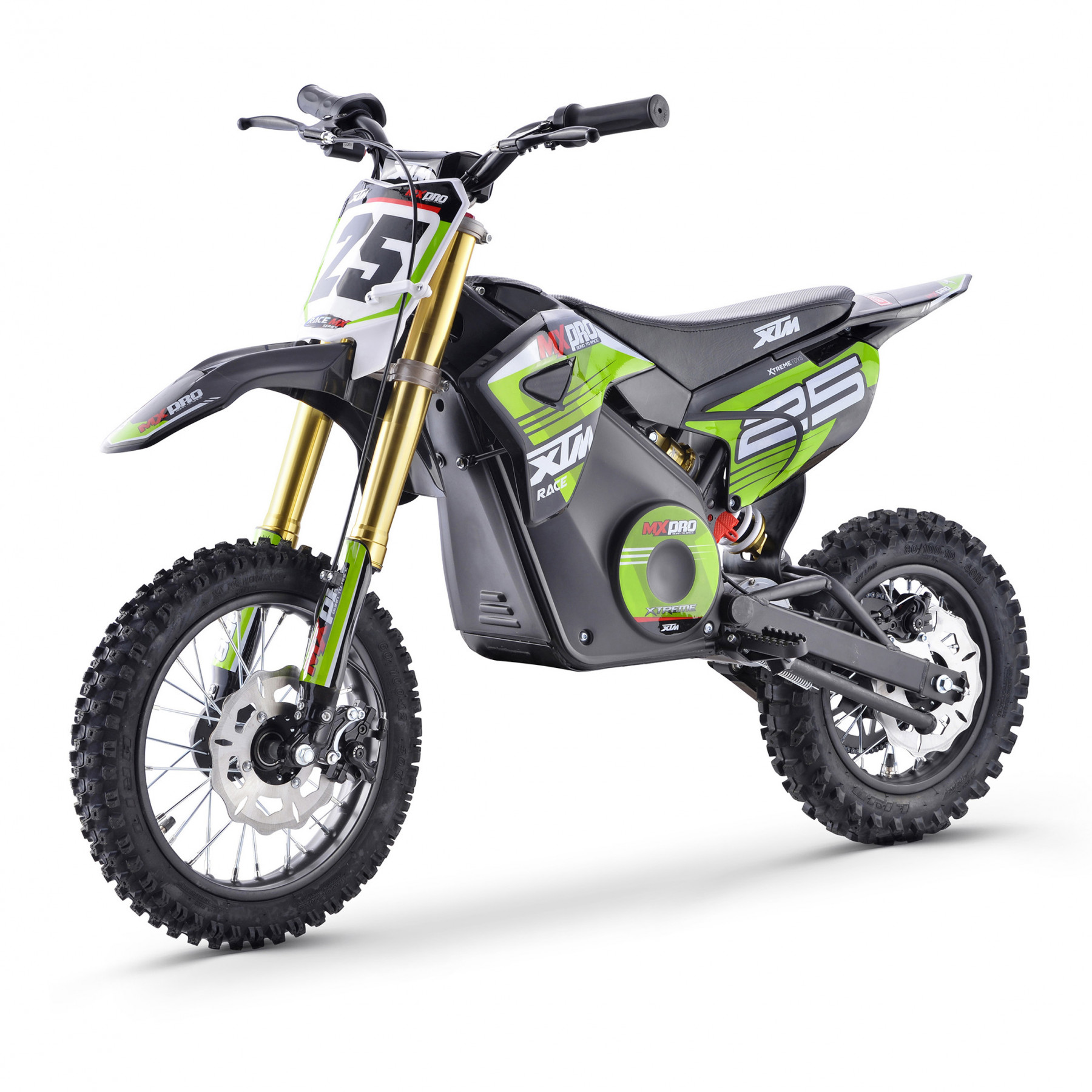 XTM MX-PRO 36V 1100W LITHIUM DIRT BIKE GREEN