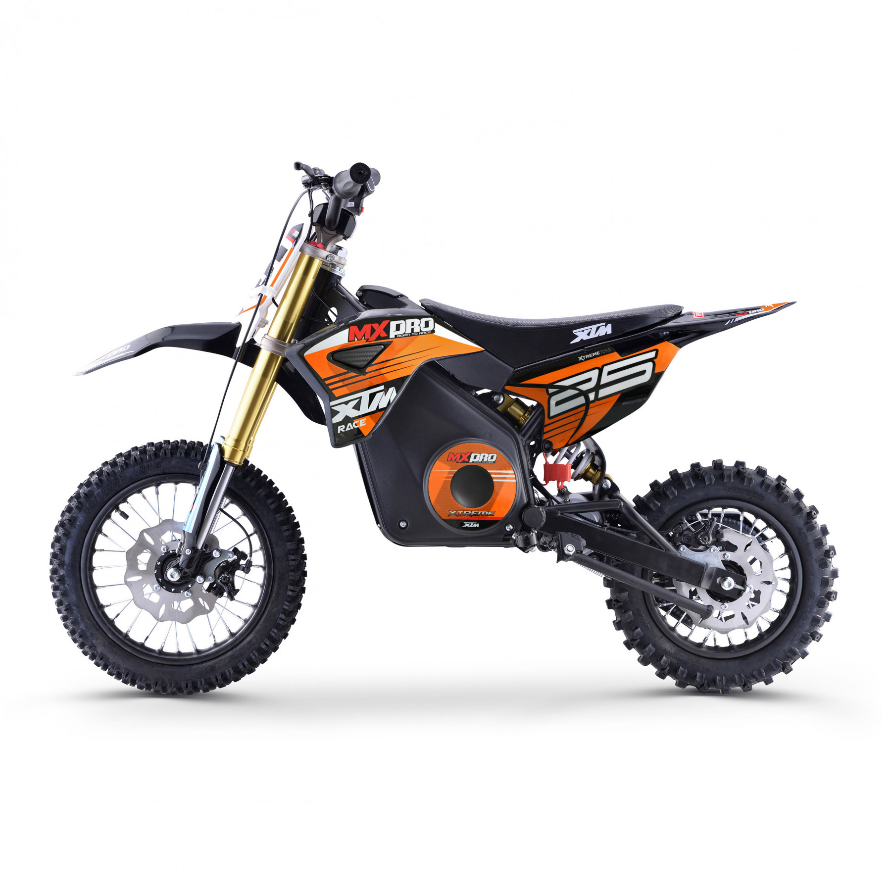 XTM MX-PRO 48V 1300W LITHIUM DIRT BIKE ORANGE