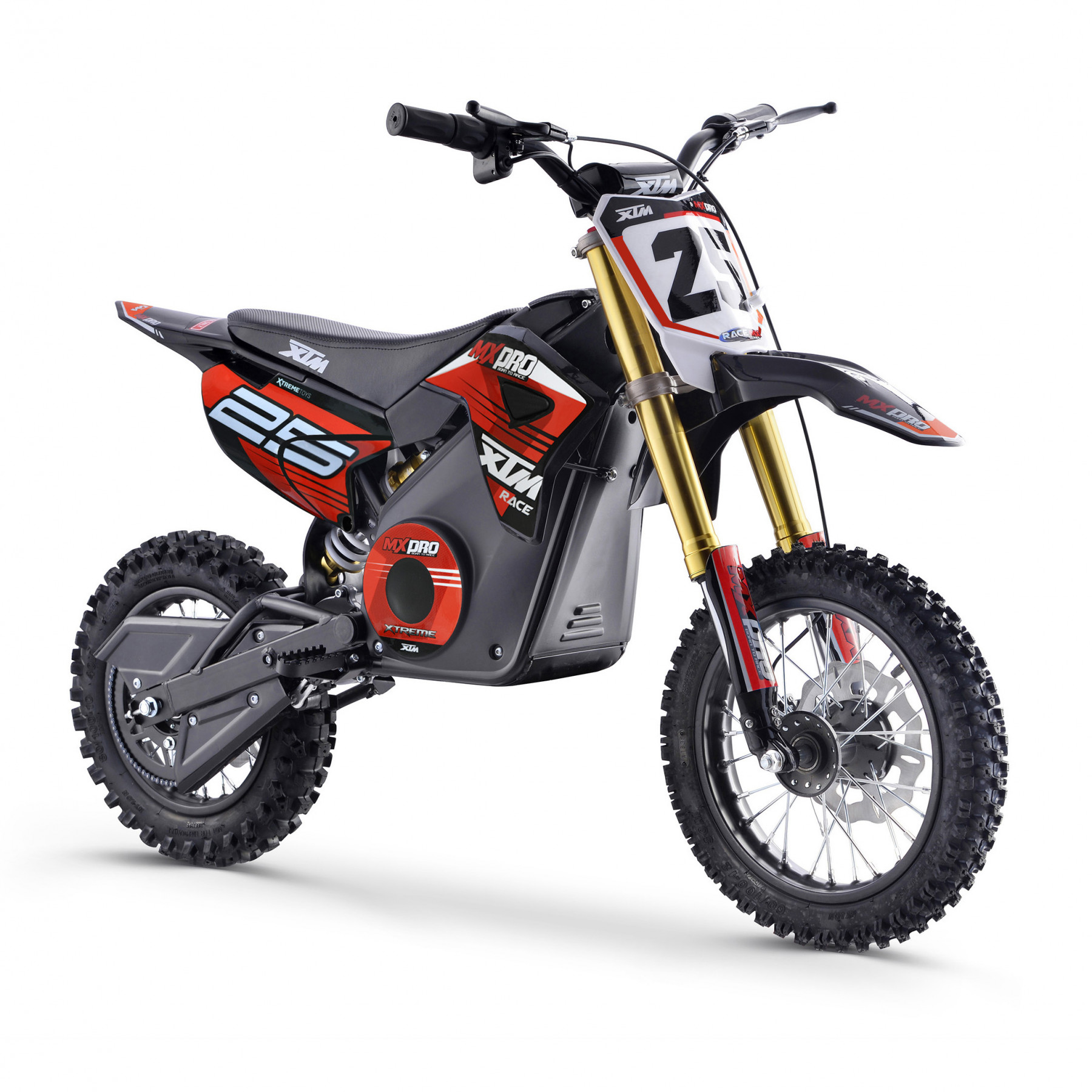 XTM MX-PRO 36V 1100W LITHIUM DIRT BIKE RED