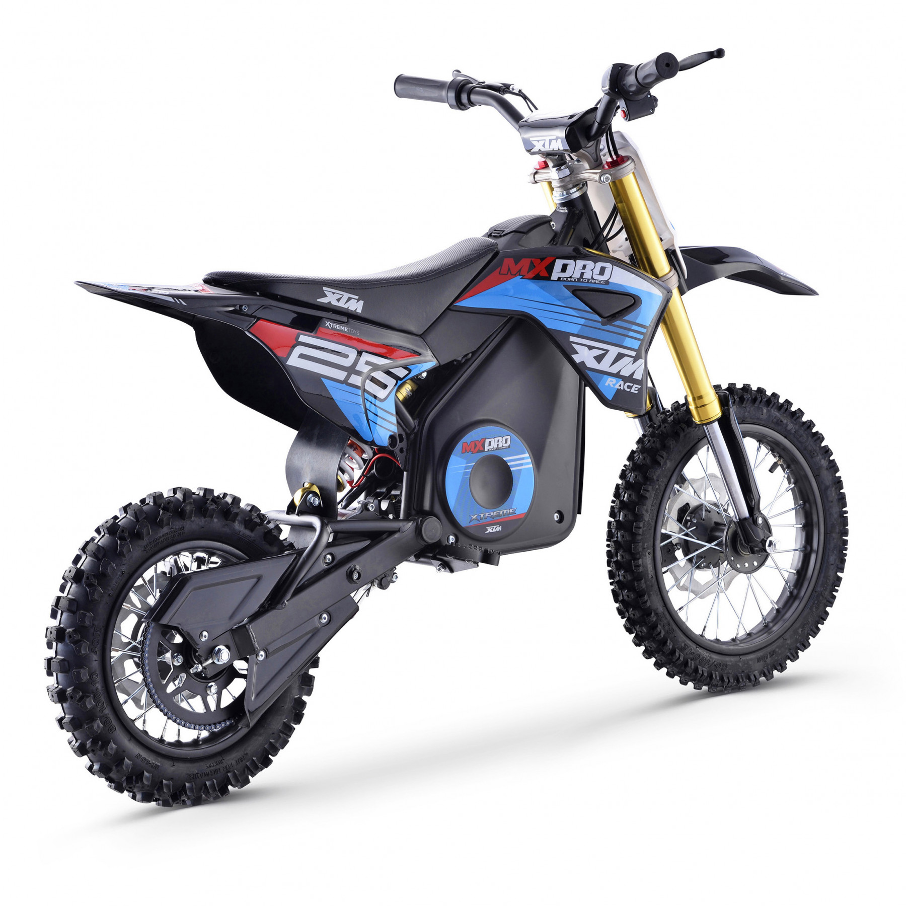 XTM MX-PRO 48V 1300W BIG WHEEL LITHIUM DIRT BIKE BLUE