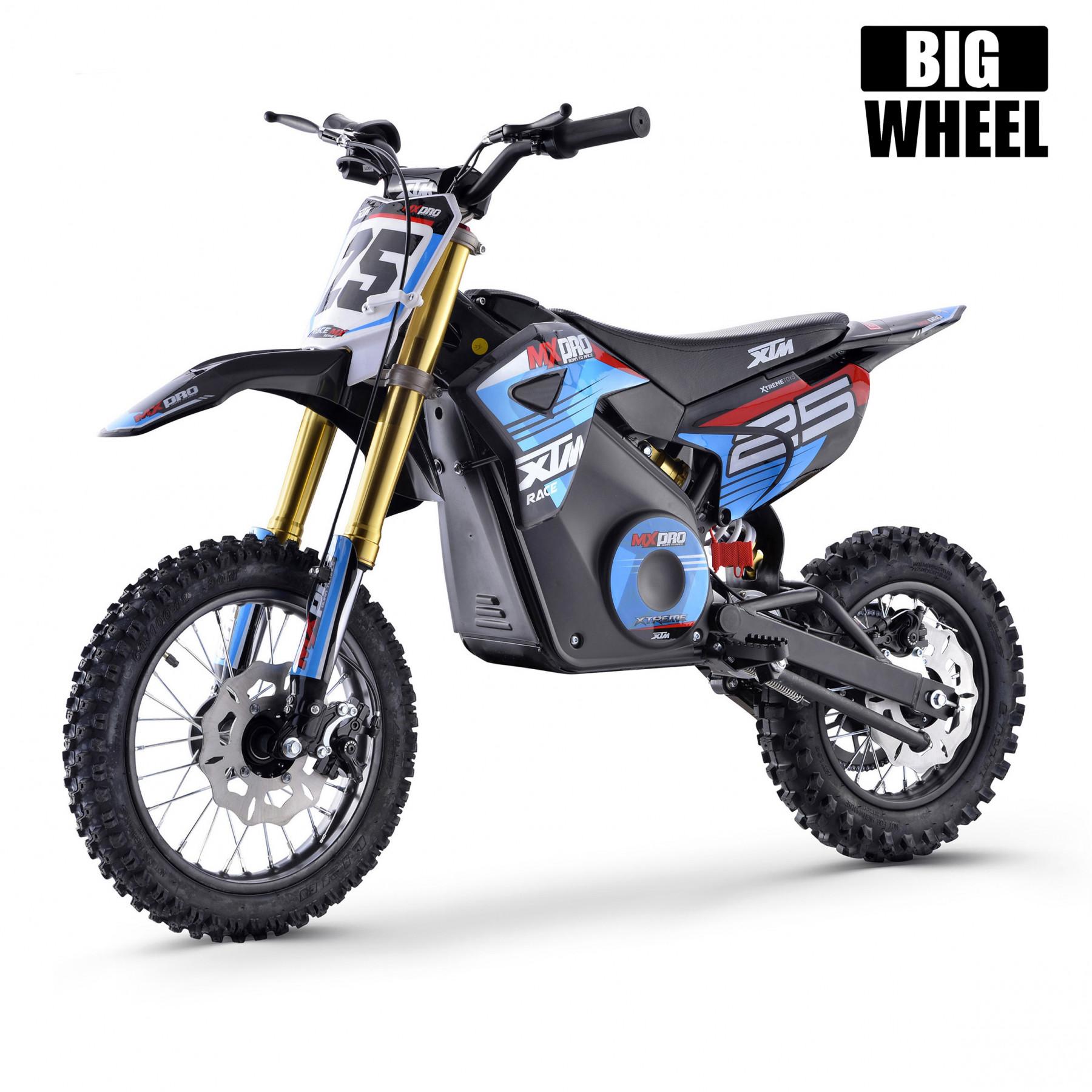 Xtm Mx Pro 48v 1300w Big Wheel Lithium Dirt Bike Blue