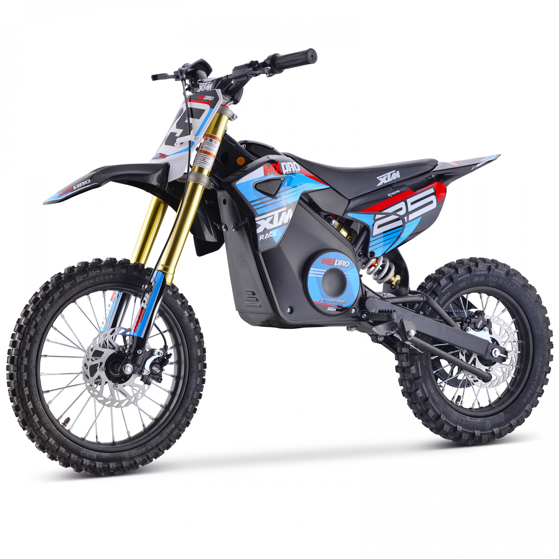 XTM MX-PRO 48V 1300W BIG WHEEL 14/12 LITHIUM DIRT BIKE BLUE