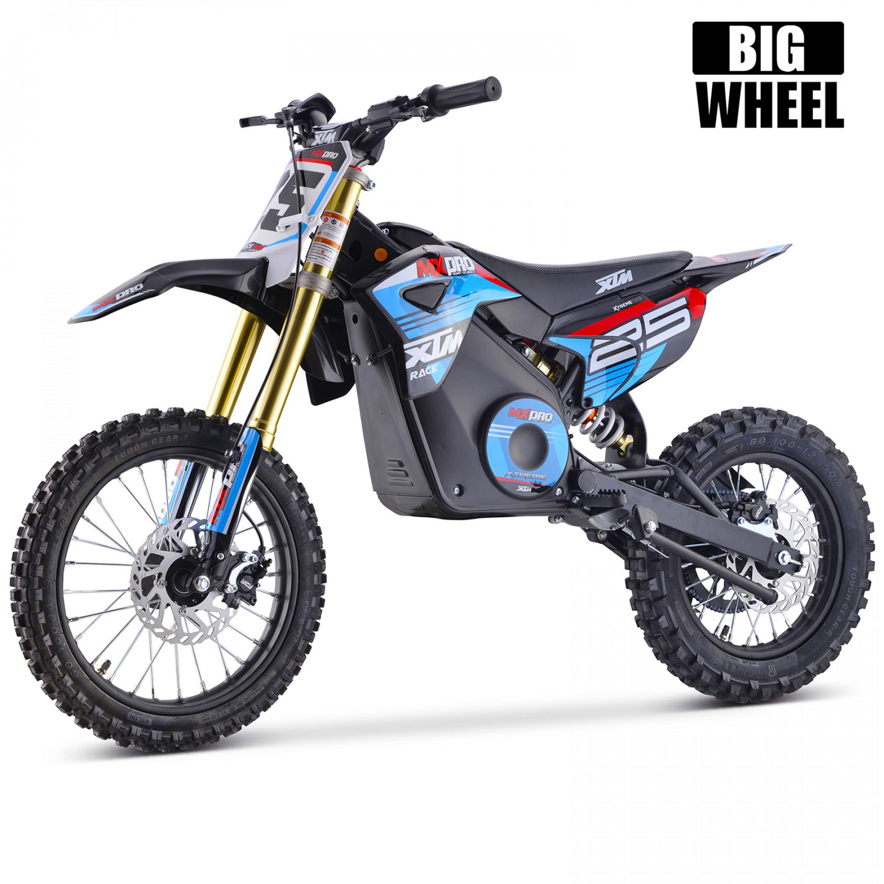 XTM MX-PRO 48V 1500W BIG WHEEL 14/12 LITHIUM DIRT BIKE BLUE