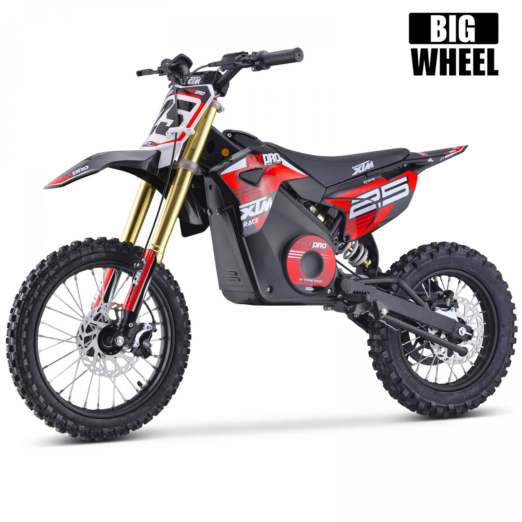 XTM MX-PRO 48V 1300W BIG WHEEL 14/12 LITHIUM DIRT BIKE RED