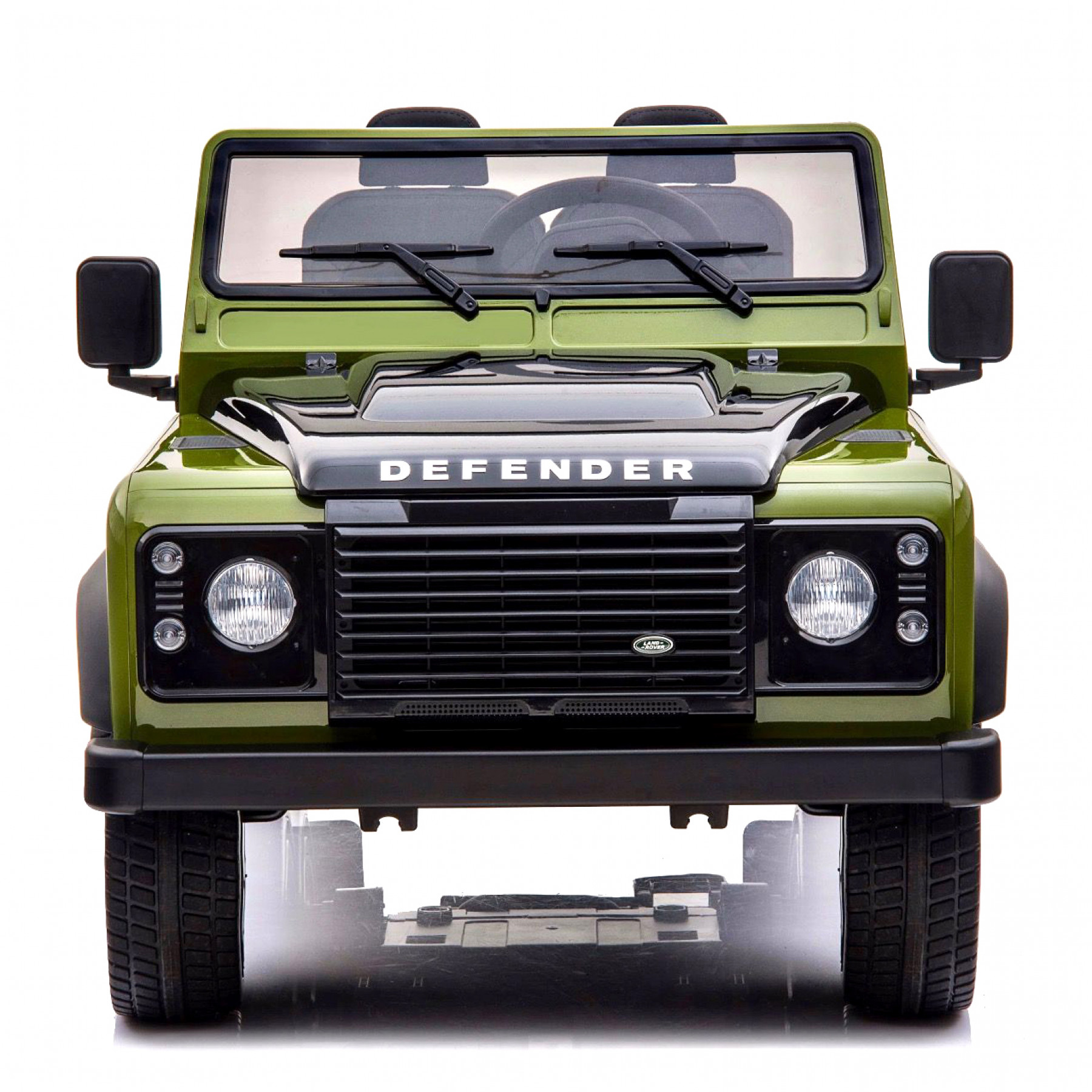 Xtreme 24V 4WD Licensed Land Rover Defender Ride on Electric Jeep Army Green