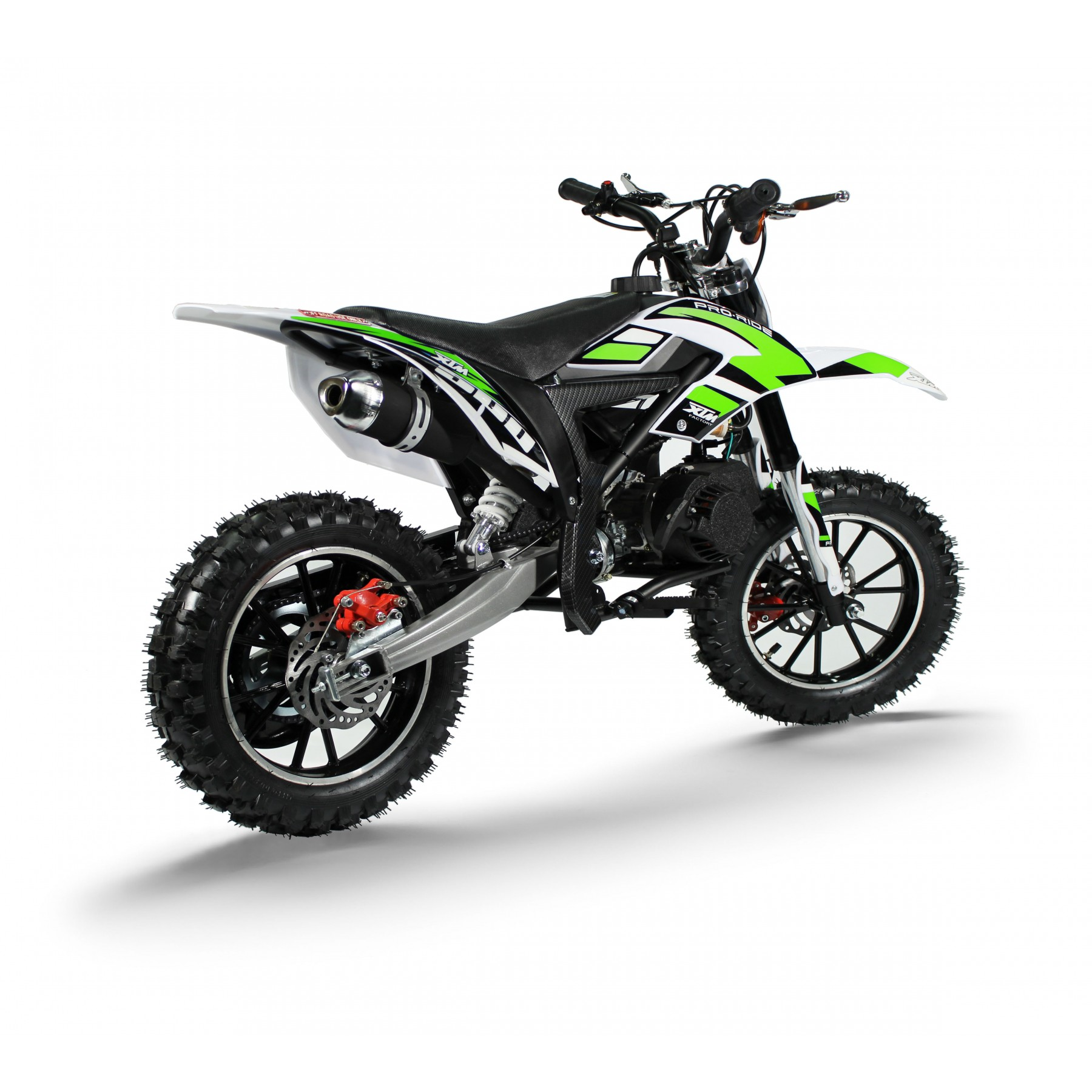 XTM PRO-RIDER 50cc DIRT BIKE GREEN