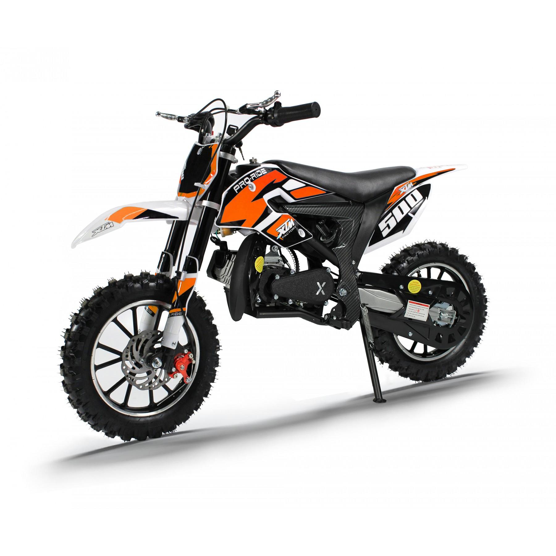 XTM PRO-RIDER 50cc DIRT BIKE ORANGE
