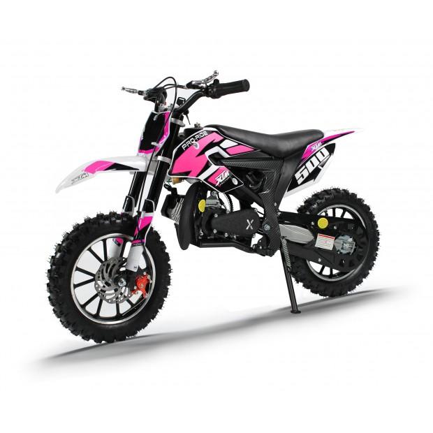 XTM PRO-RIDER 50cc DIRT BIKE PINK