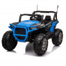 Xtreme BIG 24v Ride on Buggy Off Road UTV Jeep Blue