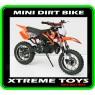 MINI DIRT BIKE CRX / MOTOR ORANGE PLASTICS KIT