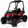 Xtreme BIG 12v Ride on Buggy Off Road UTV Jeep With Roll Cage Red