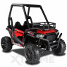 Xtreme BIG 24v Ride on Buggy Off Road UTV Two Seater Jeep With Roll Cage Red