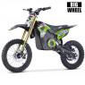 XTM MX-PRO 48V 1300W BIG WHEEL 14/12 LITHIUM DIRT BIKE GREEN
