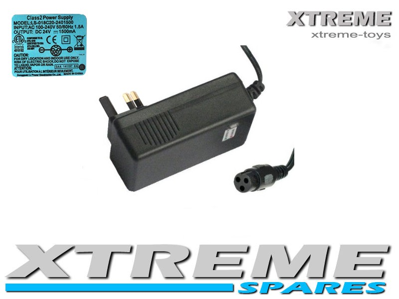 24V 500W ELECTRIC XTM BIKE BATTERY CHARGER