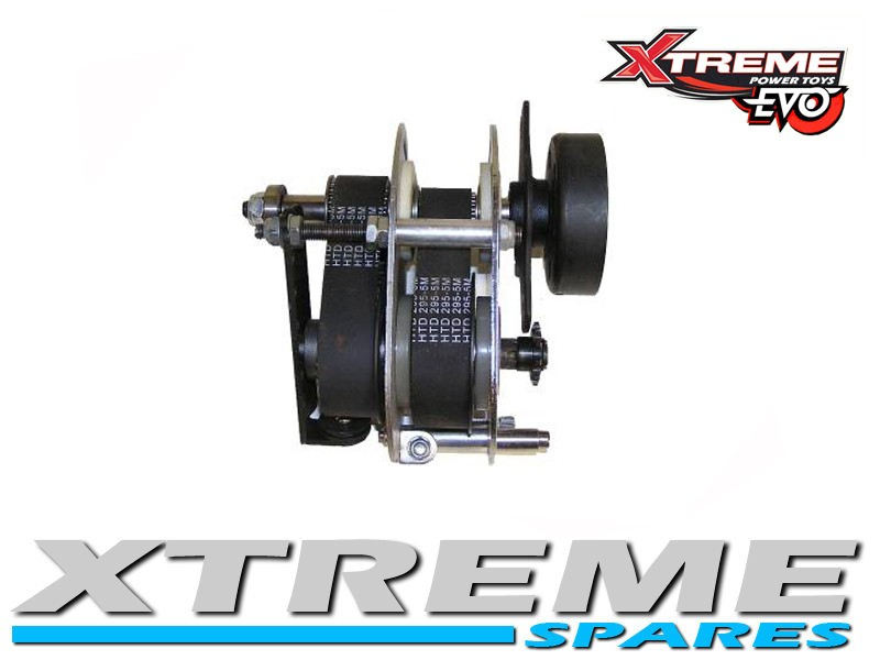EVO PETROL SCOOTER CHAIN DRIVE 2 SPEED GEARBOX TRANSMISSION