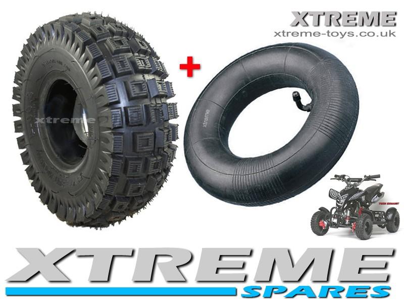 MINI QUAD BIKE TYRE / ATV / GO KART TYRE 3.00 - 4 INCH OFF-ROAD TYRE + INNER TUBE