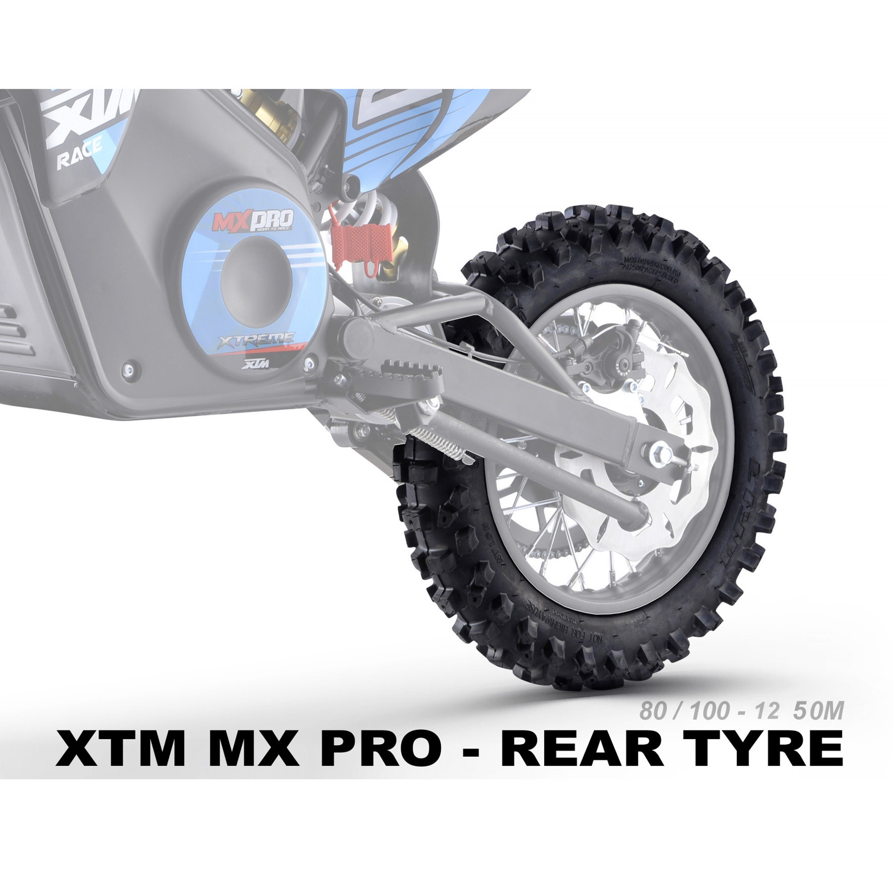 XTREME ELECTRIC XTM MX-PRO 48V REPLACEMENT 12