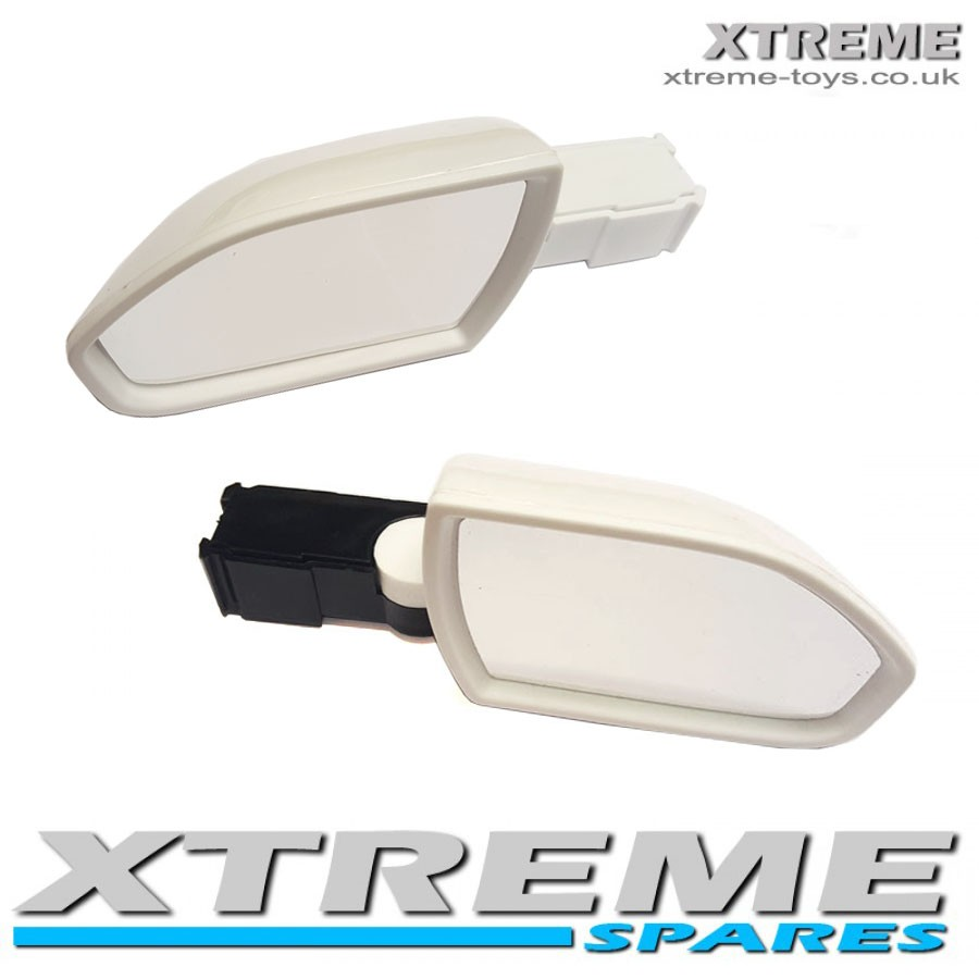 NEW 12V RIDE ON RANGE ROVER CAR SPORT HSE WING MIRROR SET
