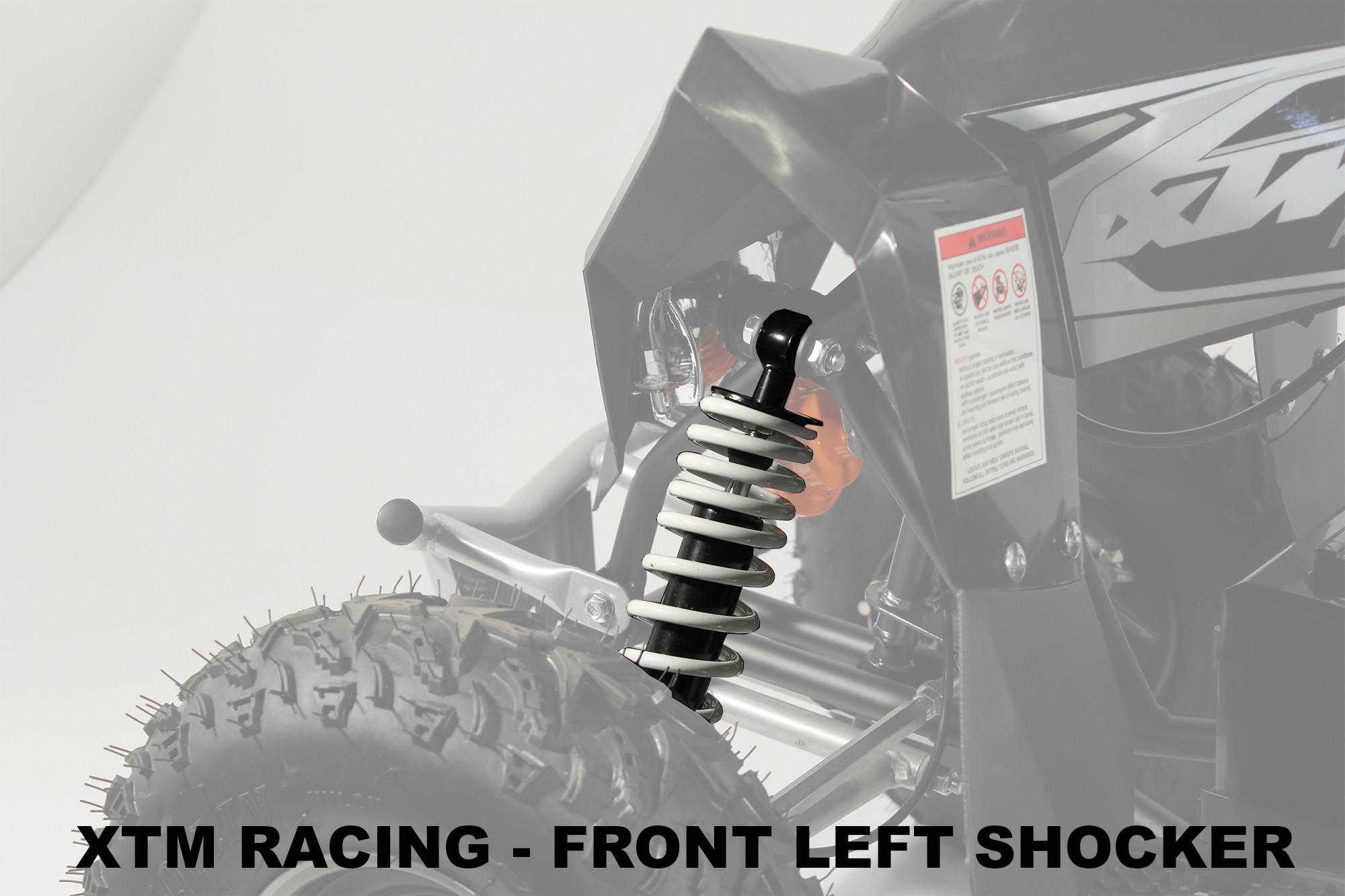XTM RACING QUAD COMPLETE NEAR SIDE FRONT LEFT SHOCKER