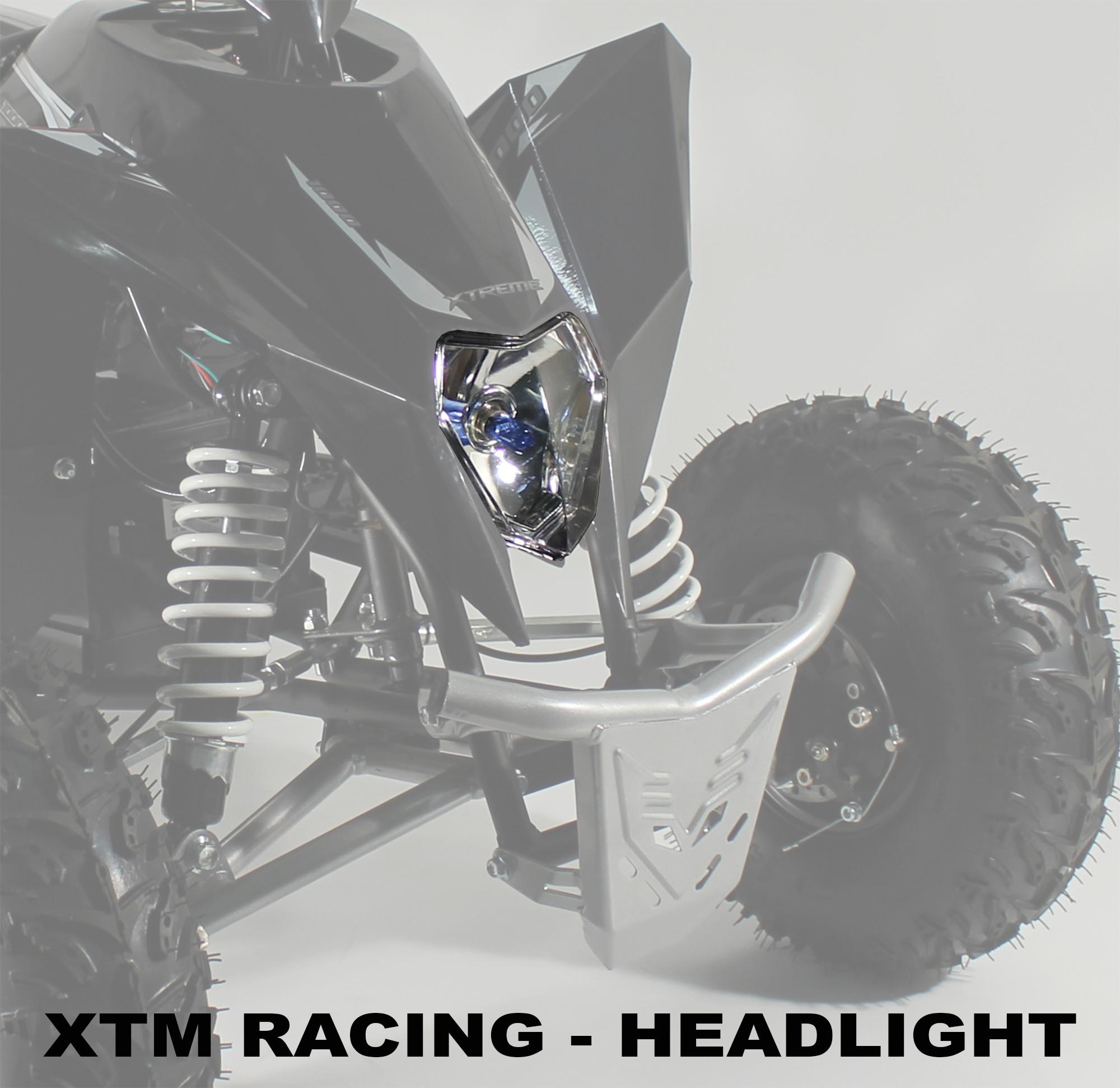XTM RACING QUAD COMPLETE HEADLIGHT SET