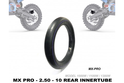 XTREME ELECTRIC XTM MX-PRO 36V REPLACEMENT REAR INNER TUBE 80/100-10