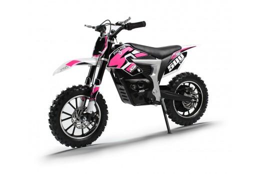 XTM PRO-RIDER 24V 500W DIRT BIKE PINK