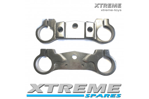 PRO-RIDER MINI DIRT BIKE TOP AND BOTTOM FORK YOKES BRACKETS
