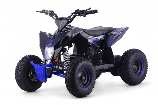 XTM RACING 48v 1300w LITHIUM QUAD BIKE BLACK BLUE