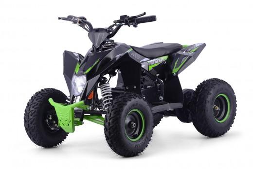 XTM RACING 48v 1300w LITHIUM QUAD BIKE BLACK GREEN