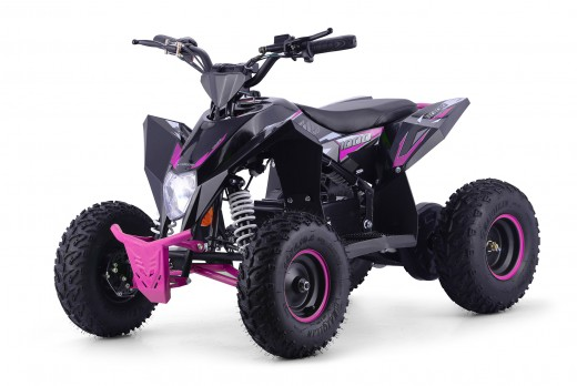 XTM RACING 1000w QUAD BIKE BLACK PINK