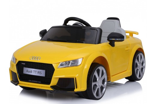 Xtreme 12v Official Licensed Audi TT RS Ride on Car in Yellow
