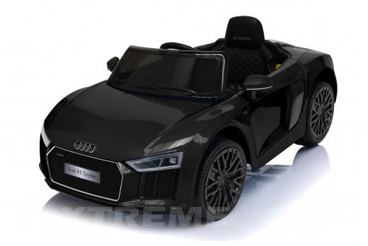 Xtreme 12v Official Licensed Audi R8 Spyder Ride on Car Black Single Headrest