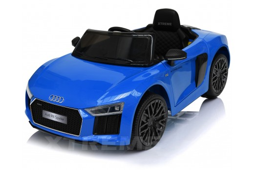 Xtreme 12v Official Licensed Audi R8 Spyder Ride on Car Blue Single Headrest