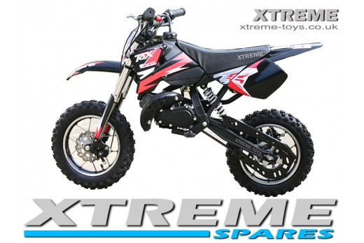 MINI DIRT BIKE CRX /BLACK PLASTICS KIT