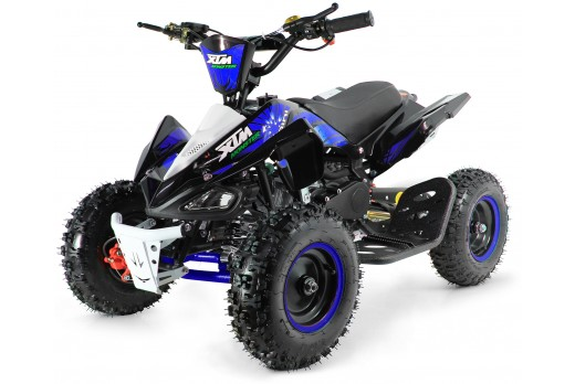XTM MONSTER 50cc QUAD BIKE BLACK BLUE