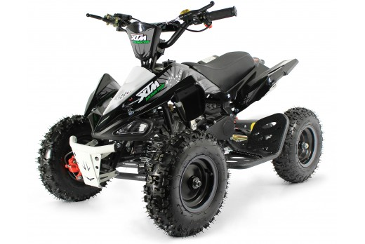 XTM MONSTER 50cc QUAD BIKE BLACK SILVER